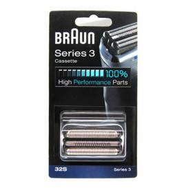Cabezal completo Afeitadora Braun Serie 3, 32S