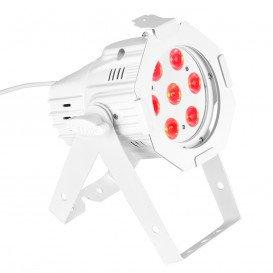 Foco LED MINI PAR RGB 7LED 3W BLANCO CAMEO