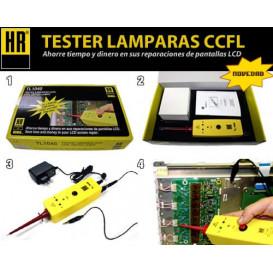 Comprobador-Simulador de Lamparas de TV LCD TL1040