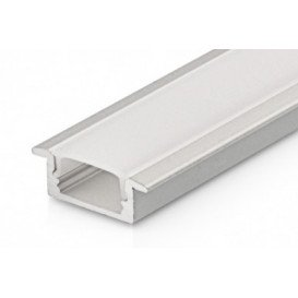 Difusor OPAL para Perfil Aluminio M1 2m