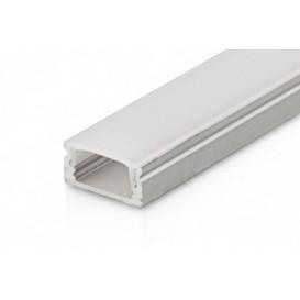 Perfil LED Superficie 2000x18x9mm M1 2mts