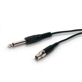 Cable MiniXLR a JACK 6,3 Mono