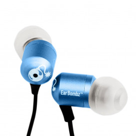 Auriculares SmartPhone H-Bombz Azul o Verde