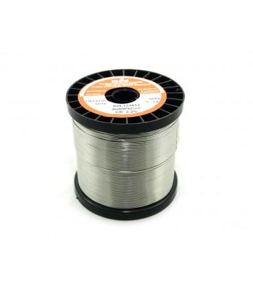 ESTAÑO TRIMETAL Carrete de 1Kgr 1mm. 60/38/2 MBO