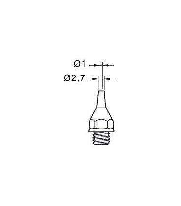 Punta Desoldador 20DE 2,7mm para DST JBC 0320500