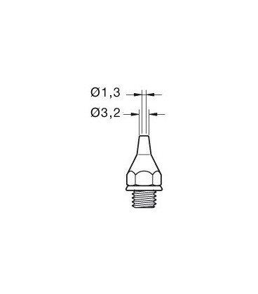 Punta Desoldador 23DE 3,2mm para DST JBC 0320600