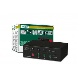 Selector VGA 4 PC a 1 Monitor DS-45100 DIGITUS