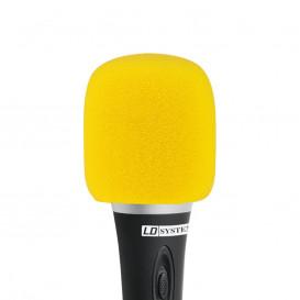 Espuma Antiviento Microfono AMARILLA