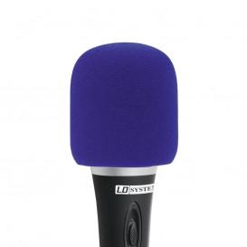 Espuma Antiviento Microfono AZUL
