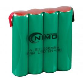 Pack Baterias 4,8V/900mA NiMh AAAx4