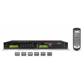 Reproductor DVD-MP3 USB RADIO AM-FM RACK 19in