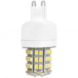 Bombilla LED G9 3,5W 48Led Blanco Calido DELOCK