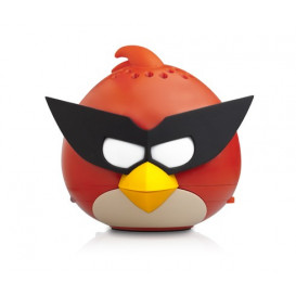 Altavoz MP3 SPACE ROJO Angry Bird