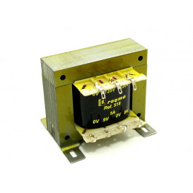 Transformador Alimentacion  9V+9Vac 5,0Amp