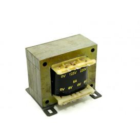 Transformador Alimentacion 6V+6Vac 6,0Amp