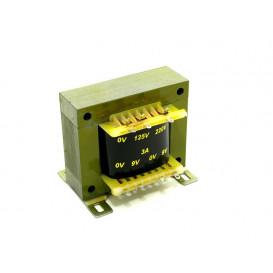 Transformador Alimentacion 9V+9Vac 3,0Amp
