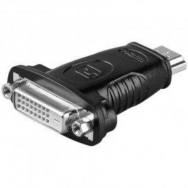Adaptador HDMI Macho a DVI 24+1 Hembra