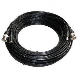 Cable BNC con conector de alimentacion 30m