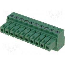 Conector C.Impreso Hembra 10 Contactos Raster 3,5mm