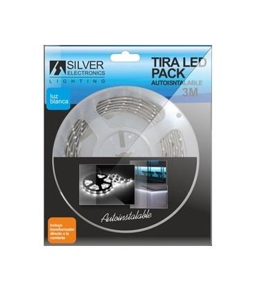 Tira LED 3mts con Alimentador 230Vac IP20 5000K