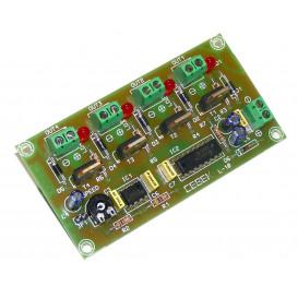 Automatismo Secuencial 4 Salidas a 12V L10 CEBEK