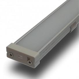 Perfil LED Superficie Tira LED 1000x26x9