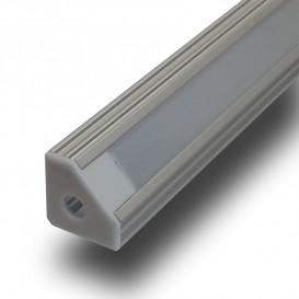 Perfil LED Esquina Difusor Mate 1000x19x19 V-TAC