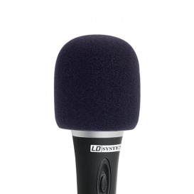 Espuma Antiviento Microfono NEGRA