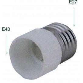Adaptador Rosca Bombillas E40 Hembra a E27 Macho 12.110