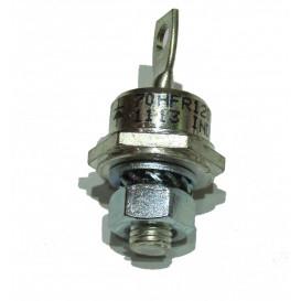 Diodo Potencia 70Amp 1200V. con rosca DO5 70HFR120