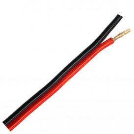 Bobina 100m Cable Paralelo 2x2,5mm OFC ROJO/NEGRO