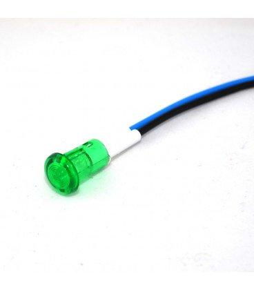 Piloto LED 230V 212c230V 8,5mm VERDE 2094212