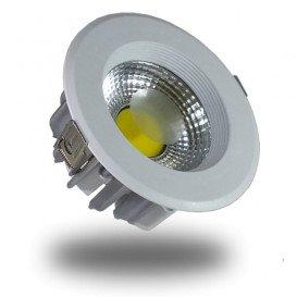 DownLight LED COB 10W 135mm 4500K Luz NATURAL