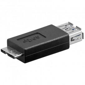 Adaptador USB 3.0 A Hembra a MicroUSB B Macho