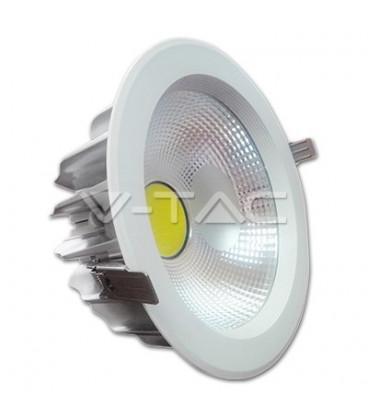 DownLight LED COB 30W 220mm 4500K Luz NATURAL