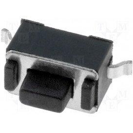 Pulsador Miniatura Cto. impreso 3x6mm 1 circuito
