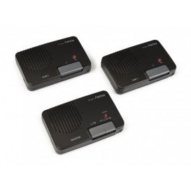 Intercomunicadores por cable 3 equipos