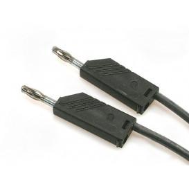 Cable de Prueba con Bananas 4mm 2mts 16A/60Vdc