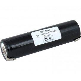 Bateria PACK de 2 R14 2,4V 4500mH Ni-Mh c/terminal