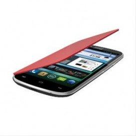 Funda Smartphone ZETA5 Flip Cover ROJA