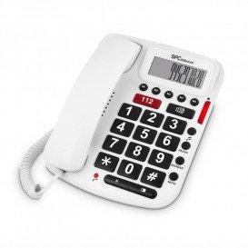 Telefono Fijo Teclas Grandes Comfort Numbers con ID