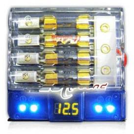 Portafusible Led Voltaje 4AGx1-8GAx2 BEYMA