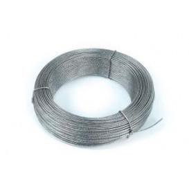 Cable VIENTOS de Acero Galvanizado 4mm 100m