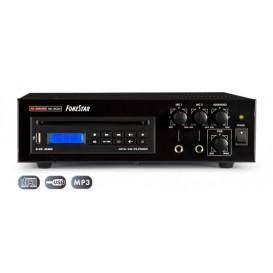 Amplificador PA 27W CD y USB 12V 230V