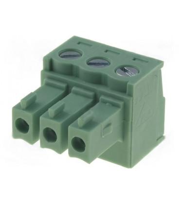 Conector C.Impreso Hembra 3 Contactos Raster 3,81mm