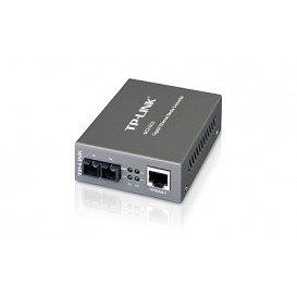 Convertidor de medios SC RJ45 Gigabit Monomodo