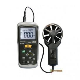Anemometro Sensor de Helice m/s, km/h, ft/min, ºC