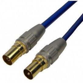 Cable Antena TV Macho-Hembra 2m Recto HQ