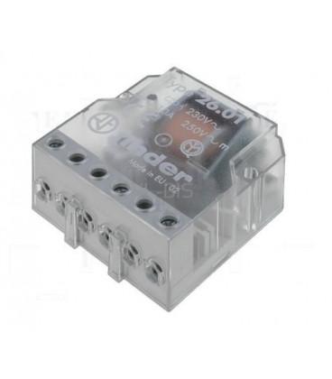 Telerruptor FINDER 24Vac 2ctos 10A Biestable 26028024