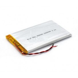 Bateria 3,7V 1500mA Polimero Litio C/Cto.Control